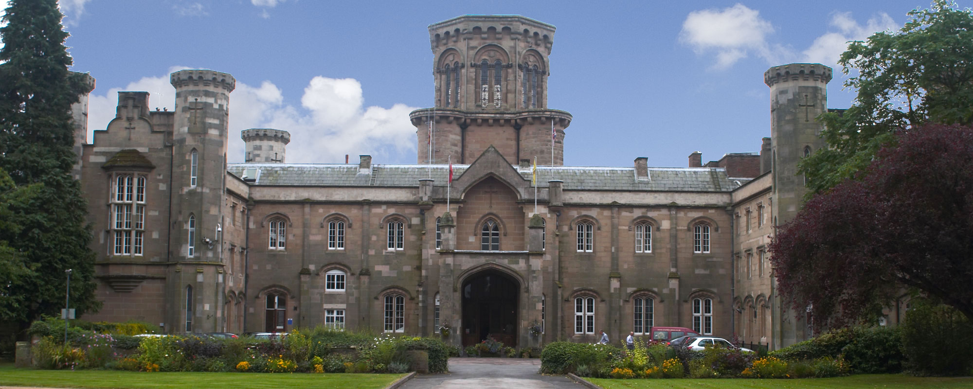 Exterior view of Studley Castle