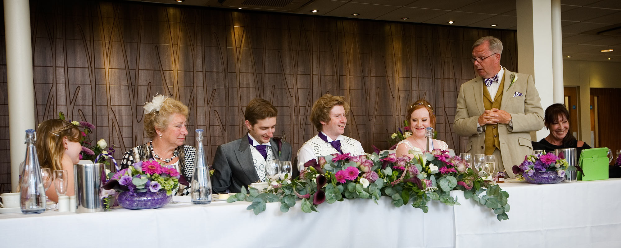 Wedding Speeches at Ashorne Hill